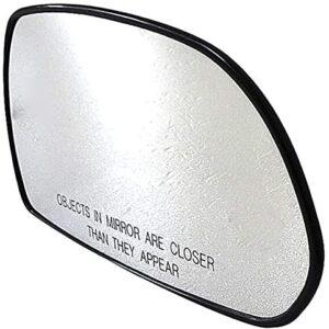 Dorman 56611 HELP!-Look! Passenger Side Non-Heated Plastic Backed Mirror Glass