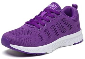 PAMRAY Women's Running Shoes Tennis Athletic Jogging Sport Walking Sneakers Gym Fitness