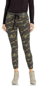 CoverGirl Womens Army Style Camo Print Skinny Button Or Drawstring Jogger Jeans