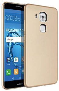 Huawei Nova Plus Case, WindCase Ultra Thin Matt Finish Anti-Fingerprint Rubberised PC Hard Back Shell Case Cover for Huawei Nova Plus / G9 Plus/Maimang 5 Gold