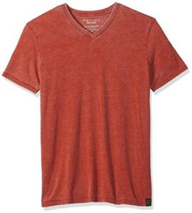 Lucky Brand Mens Venice Burnout V-Neck TEE Shirt T-Shirt