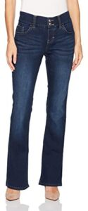 Riders by Lee Indigo Womens Pull On Waist Smoother Bootcut Jeans