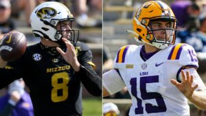 Defending champion LSU Tigers drop out of AP poll for first time since 2017