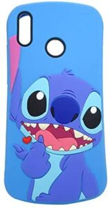 for Huawei P30 Lite/Nova 4e Case,Soft Silicone Cute Cartoon Lovely Fashion Cover for Kids Boys Girls (Slim Stitch)