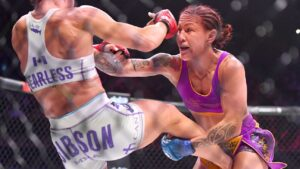 Cris Cyborg is eager to trade blows with former boxing world champ in her first Bellator title defense