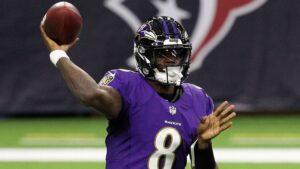 Ravens' Lamar Jackson fastest in NFL history to 5K yards passing, 2K rushing