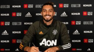 Man United complete deadline day move for Telles from Porto