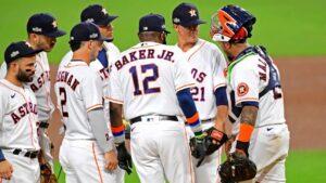 Houston Astros' Zack Greinke on Dusty Baker leaving him in ALCS Game 4