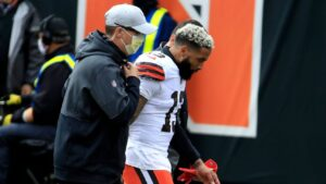 Cleveland Browns WR Odell Beckham Jr. has torn ACL in left knee