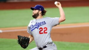 Clayton Kershaw beats Tampa Bay Rays again as Los Angeles Dodgers move one win away from Series title