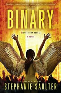 Binary (Revolution) by Saulter, Stephanie Book The Fast Free Shipping