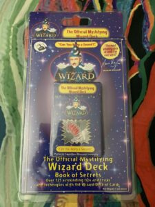 Marvin's Wizard Magic Deck + Book Of Secrets