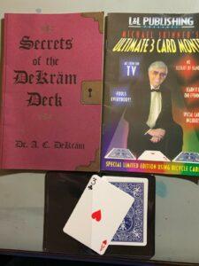 Secrets of the DeKram Deck/ Ultimate 3 Card Monte Trick