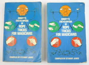 2 Copies Abbott's Encyclopedia Of Rope Tricks For Magicians Magic Secrets How-To