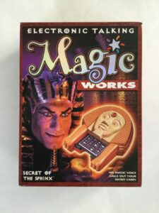 SECRET OF THE SPHINX ELECTRONIC TALKING MAGIC WORKS MB Sealed