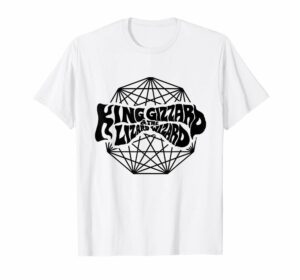 King Gizzard And The Lizard Wizard Rock Band Logo White T-Shirt Gift For Fans