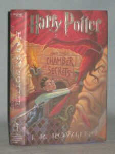 1999 BOOK HARRY POTTER AND THE CHAMBER OF SECRETS BY J. K. ROWLING