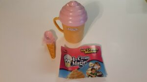 ICE CREAM MAGIC: ICE CREAM MAKER FUN FOR THE KIDS, RECIPES INCLUDED, PRE-OWNED,