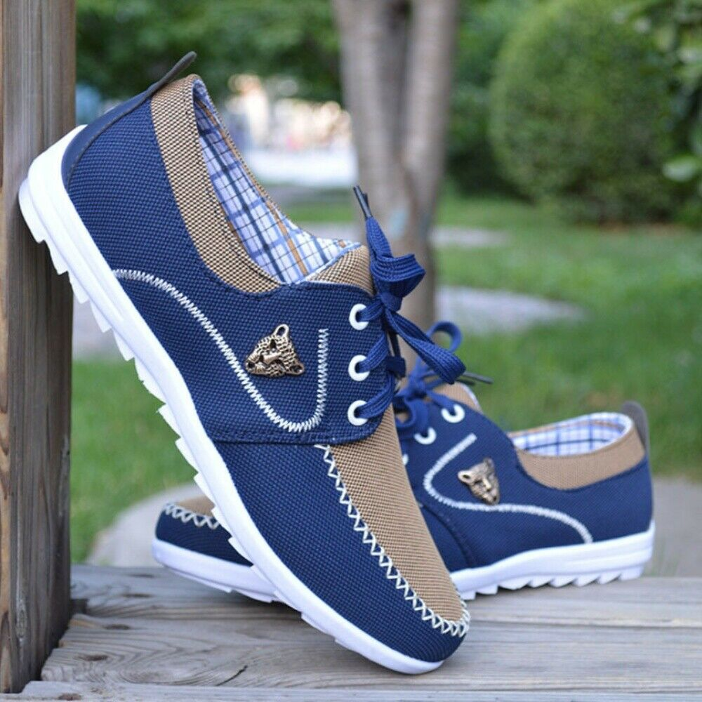 Mens Breathable Mesh Light Sneakers   Running shoes