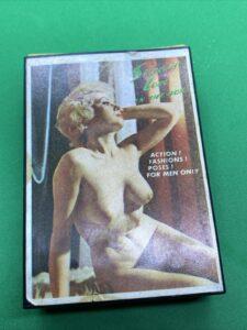 Vintage Gag Gift Electric Shock Box Secrets Of Love Nude Girls Ladies Naked