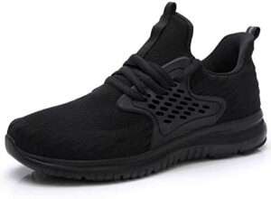 Akk Women's Light Running Shoes – Slip On Athletic Fashion Sneakers Breathable Running Tennis Shoes for Sports Gym Travel