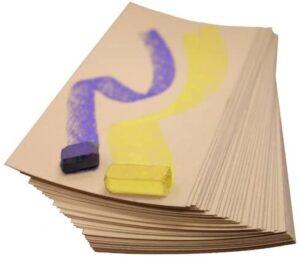 UART Sanded Pastel Paper M-147742 12-Inch/18-Inch No.400 Grade Paper, 10-Pack