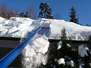 AVALANCHE! Original Roof Snow Removal System AVA500 with 17-Inch Wide Cutting Head and 16-Foot Quick Connect Light Weight Fiberglass Handle