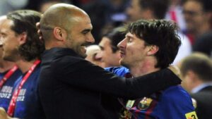 Lionel Messi leaving Barcelona for Man City a real prospect after Pep Guardiola's new contract