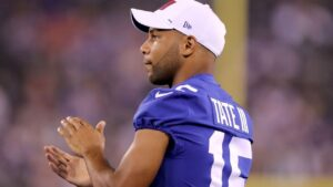 New York Giants bench WR Golden Tate over outburst on usage