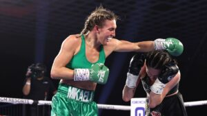 Mikaela Mayer wins first world title, Mario Barrios retains his and Regis Prograis returns with TKO win