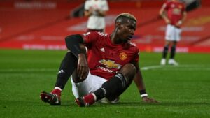 Manchester United's Pogba 'cannot be happy' at club