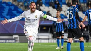 Ramos scores 100th Real Madrid goal in 8/10 showing as Los Blancos fight back to beat Inter