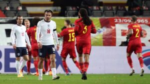 Grealish flourishes for England, but Belgium sends Southgate back to the drawing board