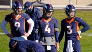 'Improvise and adjust': Broncos won't have NFL QB in uniform vs. Saints – Denver Broncos Blog