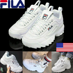 FILA Womens Men Fashion Sneakers Casual Athletic Running Walking Sports Shoes US