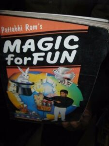INDIA RARE – MAGIC FOR FUN JADURATNA PROF. B. V. PATTABHI RAM PUSTAK MAHAL P.120
