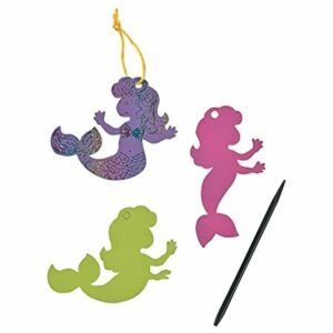 Pastel Magic Scratch Mermaids – Crafts for Kids and Fun Home Activities