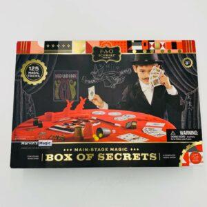 FAO Schwarz Marvins Main Stage Magic Box Of Secrets 125 Magic Tricks
