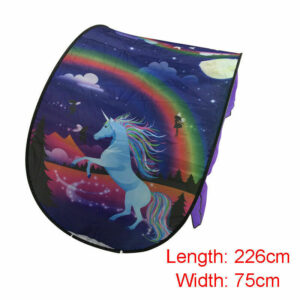 Dream Fantasy Fun for Kids Foldable Play Bed Tents Pop up Indoor Magic Playhouse