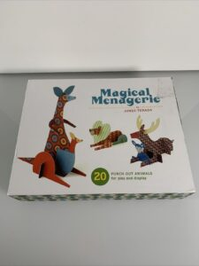 Magical Menagerie: 20 Punch-Out Animals for Play and Display by Junzo Terada.