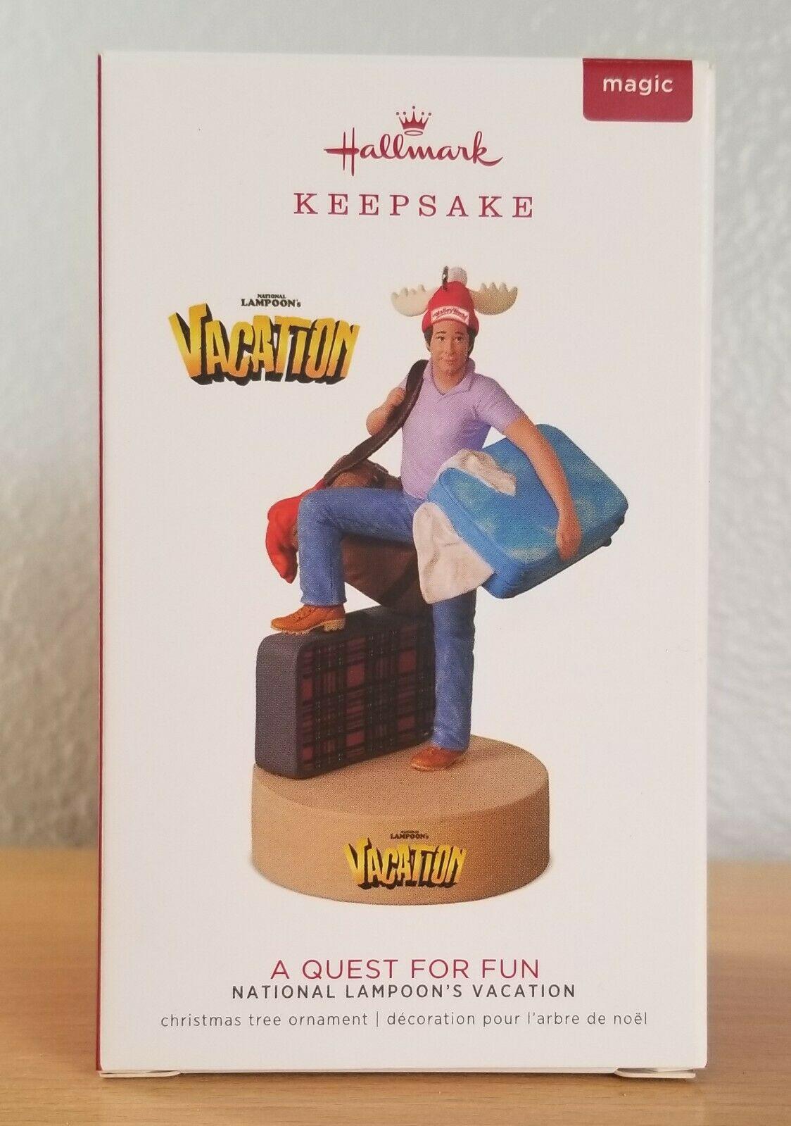 Hallmark Keepsake Magic Ornament 2018 National Lampoons Vacation Quest for Fun