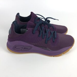 Under Armour Curry 4 Basketball Shoes Men's Size 9.5 Purple 3000083-500