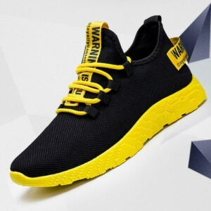 Men Sneakers Breathable Casual No-slip Men Vulcanize Shoes Air Mesh Lace up SALE