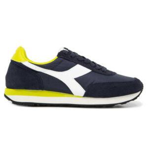 Diadora Heritage Men's Shoes Sneakers Koala Blue Yellow Denim Summer Sale 42