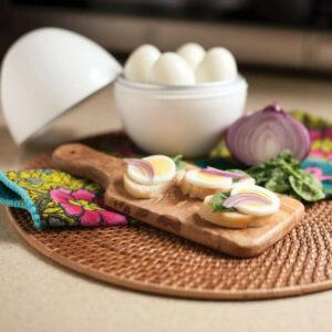 1pc Creative Durable Simple Useful Egg Steamer Egg Cooker Egg Boiler