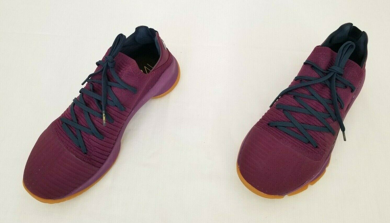 Mens Size 11 Purple Under Armour Steph Curry 4 Basketball Shoes 3000083-500