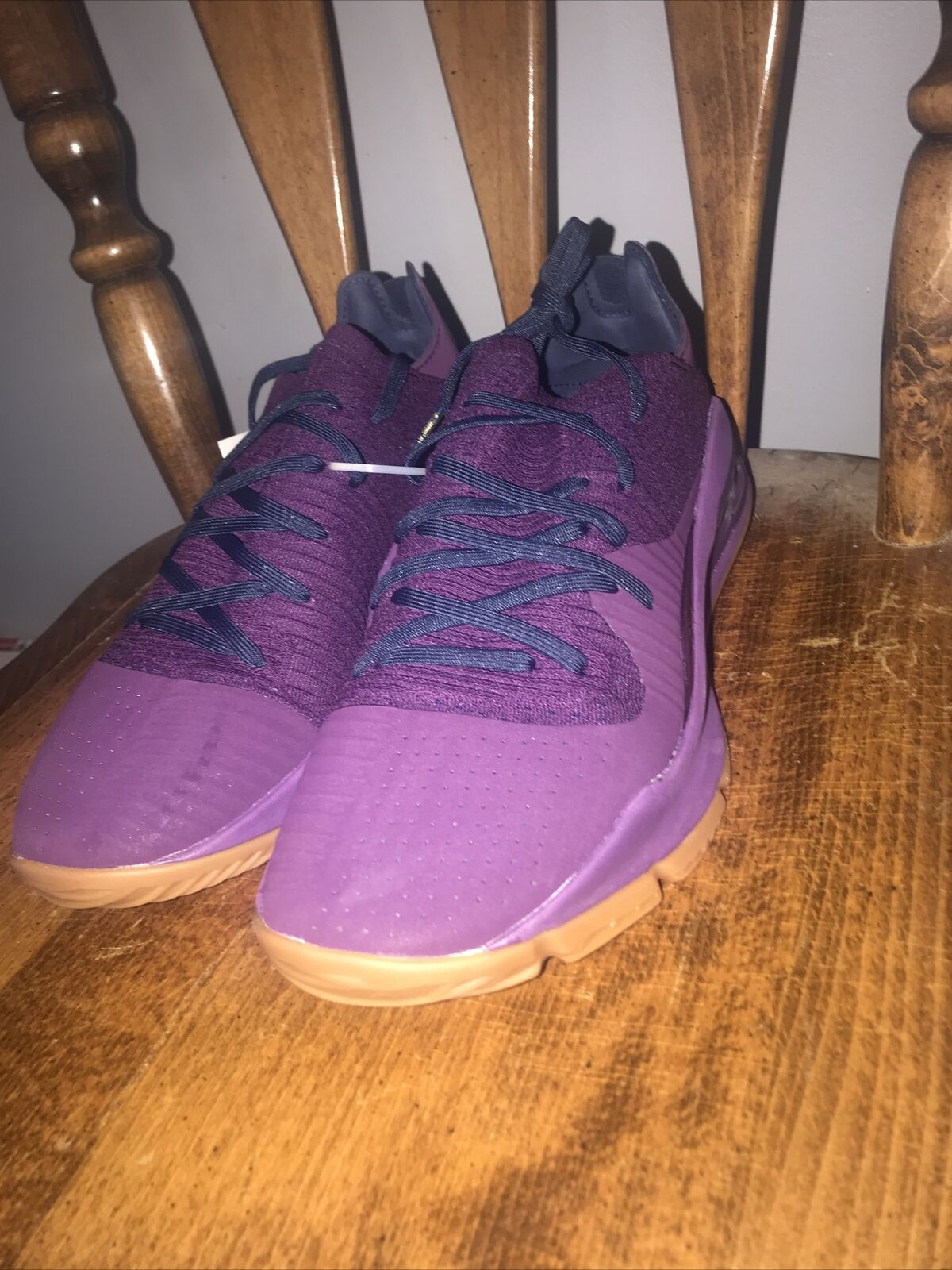 Under Armour Curry 4 Low Mens Merlot Purple Basketball Shoes Sz 11.5 3000083-500