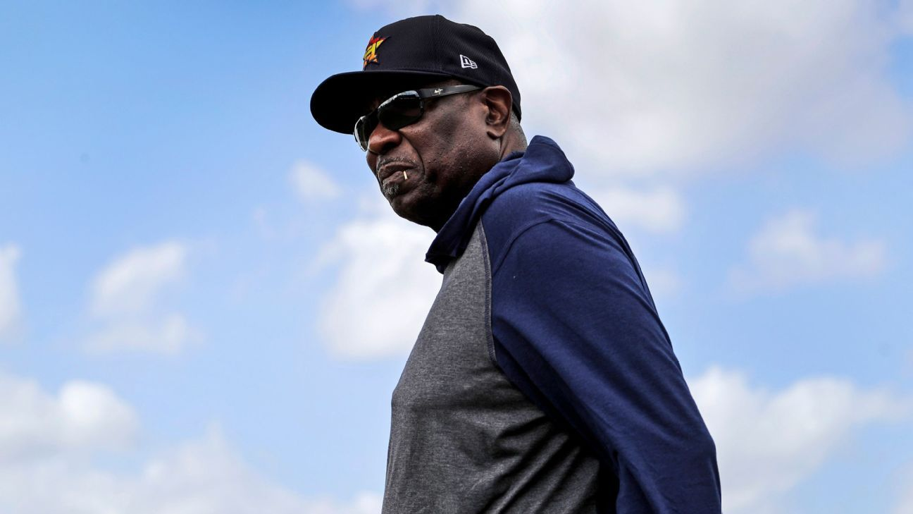 Dusty Baker, 71, unsure whether he wants to manage Houston Astros beyond 2021