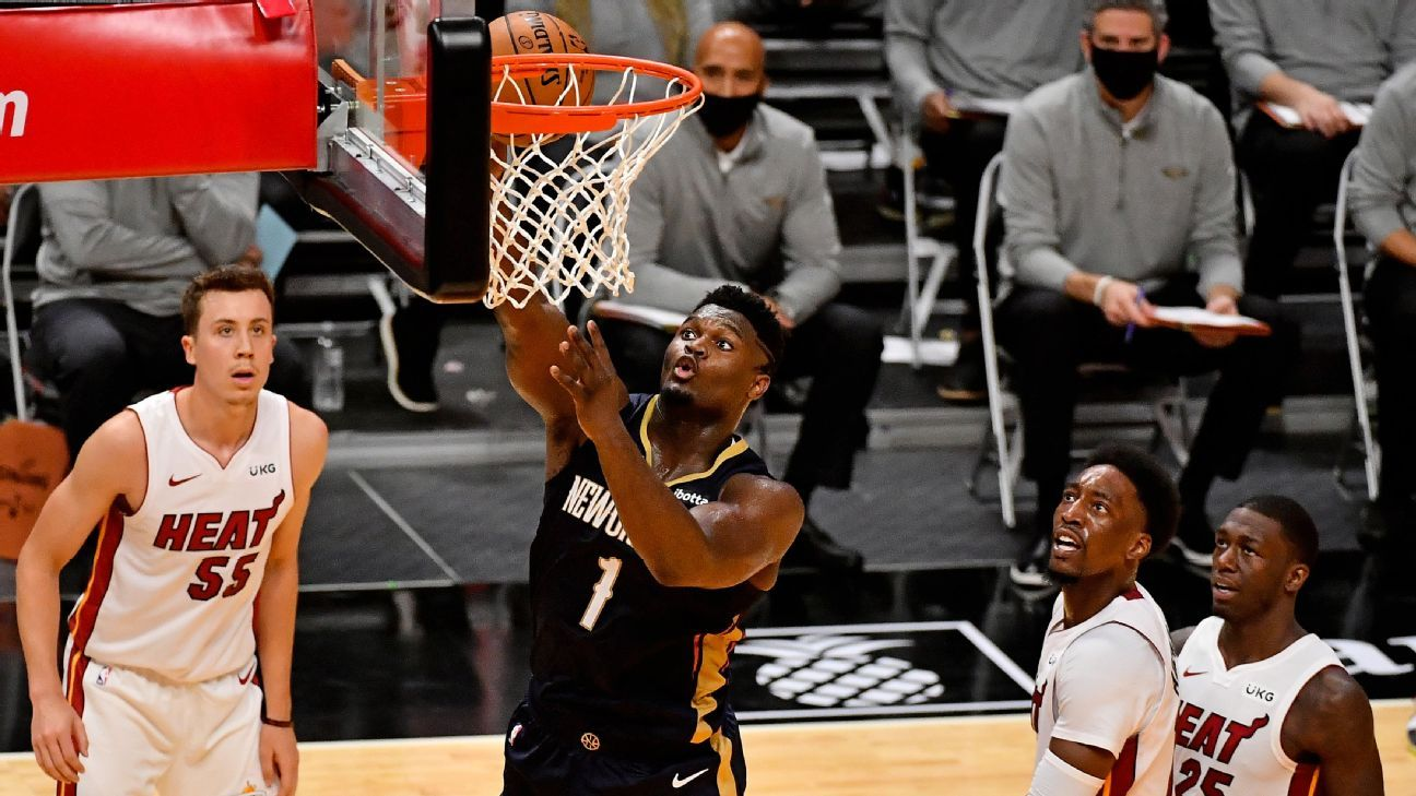 New Orleans Pelicans star Zion Williamson thrives in debut without restrictions