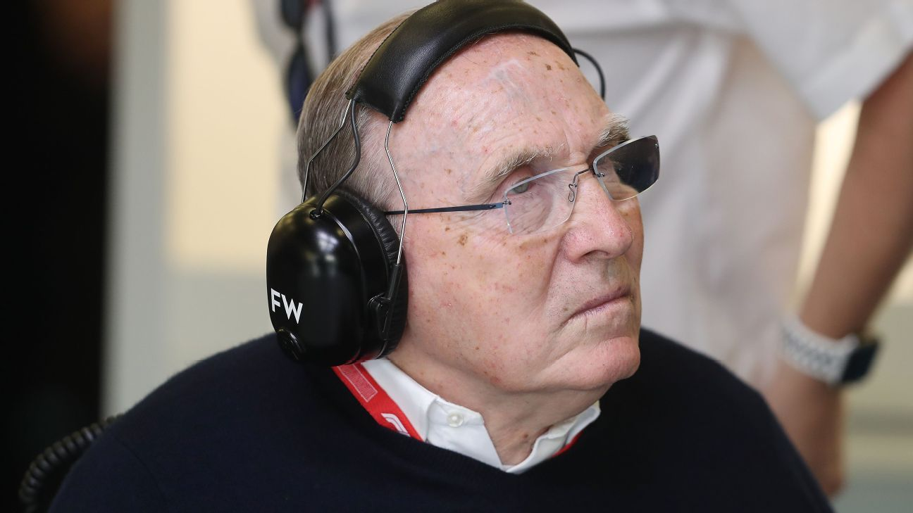 Frank Williams in stable condition in hospital